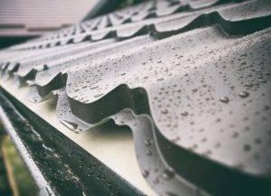 metal rooftop